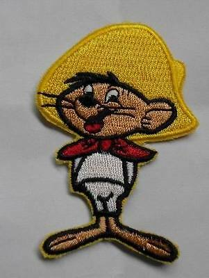 speedy gonzales patch Embroidered Iron on 3 inch tall