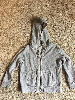 Seed Grey Hoodie Size 4-5 100% Cotton