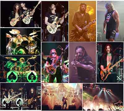 120 Motorhead Colour Concert Photos 1979, 80, 81, 2005