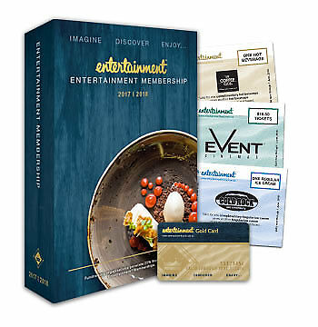 Entertainment Book 2017/2018 - Sydney and Surrounds - Section B - Free postage