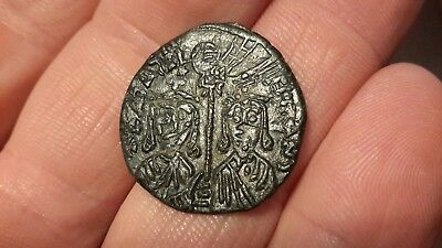 Very Nice Condition Unidentified Byzantine Bronze Coin