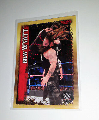 TOPPS SLAM ATTAX 10th BRAY WYATT WWE COLLECTORS CARD DC3