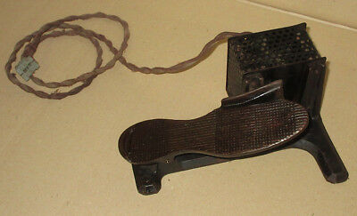 Antique Vintage Singer Magnet Foot Pedal Iron Electric Sewing Machine Control