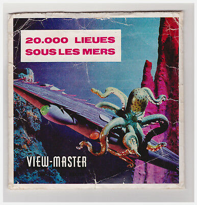 View Master  20000   Lieues Sous Les Mers    B 370  In Francese   Con Libretto