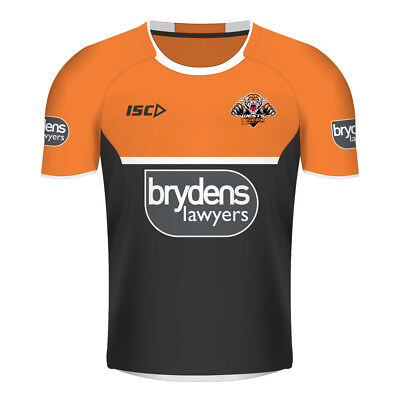 Wests Tigers 2018 NRL Adults Mens Training Tee BNWT Rugby League