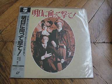 Butch Cassidy and the Sundance Kid Laserdisc LD JAPAN Newman, Redford