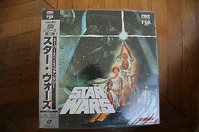 Star Wars A New Hope 1977 Laserdisc LD CLV OBI SF098-1117 New Georges LUCAS FILM