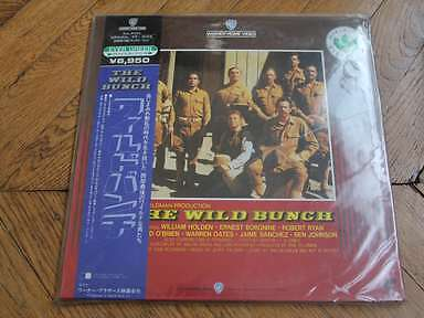 The Wild Bunch 1969 NTSC CLV LASERDISC AS NEW JAPAN PILF2213 William Holde