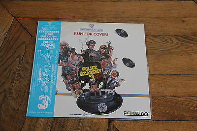 Police Academy 3 Back in Training 1986 Laserdisc LD JAPAN NTSC 08JL-20022 New