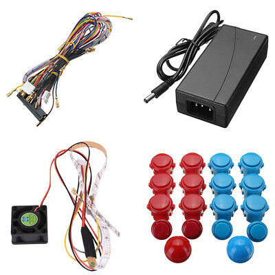Pandora's Box 5S 999 Games Arcade Machine 2 Joysticks DIY Kit Bundle Home Family