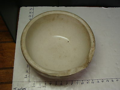 """large vintage Mortar 19 lbs from Elli Buk collection 12 x 12 x 6 1/2 """""""