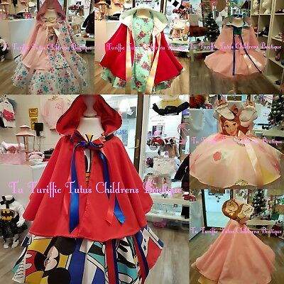 Girls Dress and Cape Set with separate tutu underskirt 3-5 years