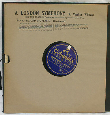 LONDON SYMPH.ORCH. & DAN GODFREY V. Williams: A London Symphony; Fragment!! A327