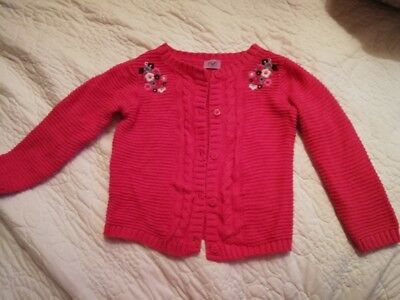 girls 12-18 months hot pink cardigan