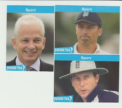 Cricket : England Captains : superb Picture This? cards - UK edition
