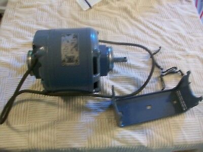 Vintage 1/3 HP Packard Electric Motor  SW120 115 V 1 ph 60 Cy 5.5. amp 1750 RPM