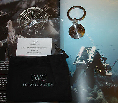 "IWC Schlüsselanhänger Aquatimer ""Tribute To The Charles Darwin Foundation""! TOP!"