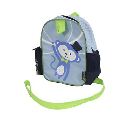 Itzy Ritzy Preschool Happens Toddler Harness and Backpack Monkey