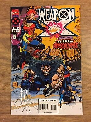 Weapon X #1 (1995, Marvel) Age of Apocalypse  VF to NM