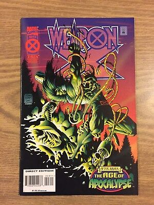 Weapon X #3 (1995, Marvel) Age of Apocalypse  VF to NM