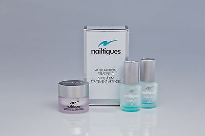 NAILTIQUES  After Artificial Treatment