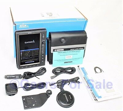 Garmin 696 Color Aviation GPSMAP with Mount, Weather Antenna In Original Box