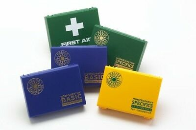 Helios Homeopathy First Aid Urgences Kit 18 remèdes homéopathiques