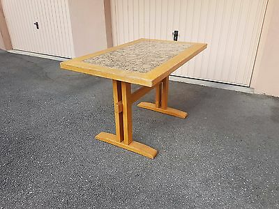 table pine 60'S Perriand the Arc ? vintage Design pine table