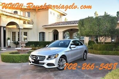 2015 Mercedes-Benz C-Class 4Matic Sedan 4-Door C300 4matic premium