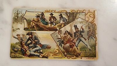 Victorian Trading Card Arbuckle Bros State Facts Tennessee