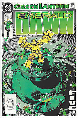 Green Lantern: Emerald Dawn #5 (NM) 1990