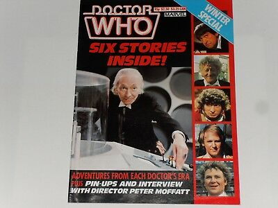 Dr. Who Winter Special  Marvel Comics