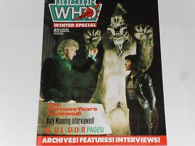Dr. Who Winter Special 1985, Marvel Comics