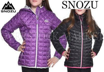New Snozu Girls Glacier Shield Quilted Jacket Coat Variety Colors Sizes & Styles