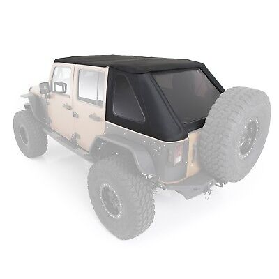 Smittybilt 9087235K Bowless Combo Top w/Tinted Windows 07-18 Wrangler (JK)