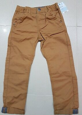 ☆☆BNWT new mothercare Boys tan brown Casual chino Trousers age 5 Years £10☆☆