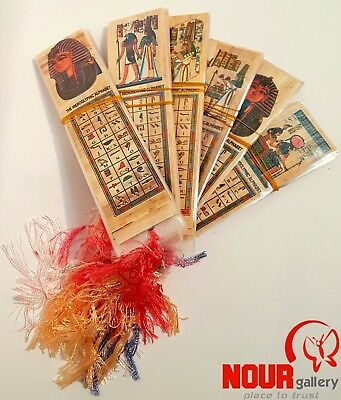 SALE LOT OF 500 Ancient Egyptian Authentic Handmade Papyrus Book Marks