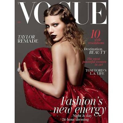 Vogue UK Magazine January 2018 - Taylor Swift