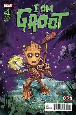 I AM GROOT #1 Standard Cover Marvel Now Comic NM 2017