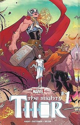 The Mighty Thor #1 Standard Cover Marvel Now Comic NM 2015 Jane Foster Ongoing