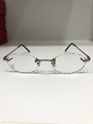 04aaa5184d7 NIB CARTIER UNISEX Rimless Prescription Eyeglasses Frame -  395.00 ...