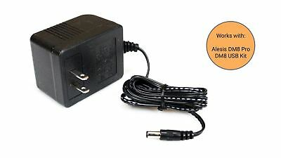 Alesis DM8 Pro / DM8 USB Kit Power Supply Adapter - PSU Replacement
