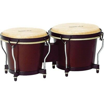"Tycoon Percussion Ritmo Bongos 6 & 7"" (Mahogany Finish)"