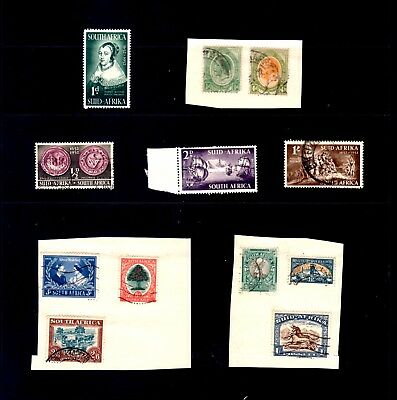 Stamps South Africa small collection Mint & Used