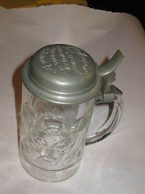 Antique Advertising Beer Stein For The Moerlein Hotel & Restaurant Pittsburg Pa