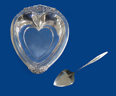 Laurel Mist International Silver 2 Piece Deepsilver Party Set -- Free Shipping *