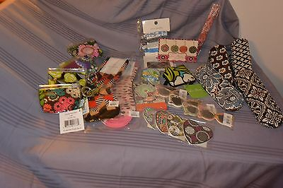 Vera Bradley Large Lot of Accessories all New