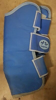 Pair of Travel float boots, padded, cob size.