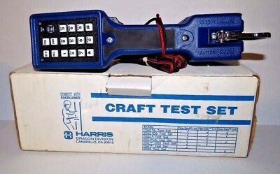NEW in Box Vintage Harris Craft Test Butt Set TS22 NOS 1994 Made in the USA