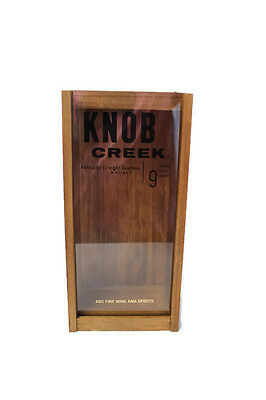 Knob Creek Empty Wooden Box